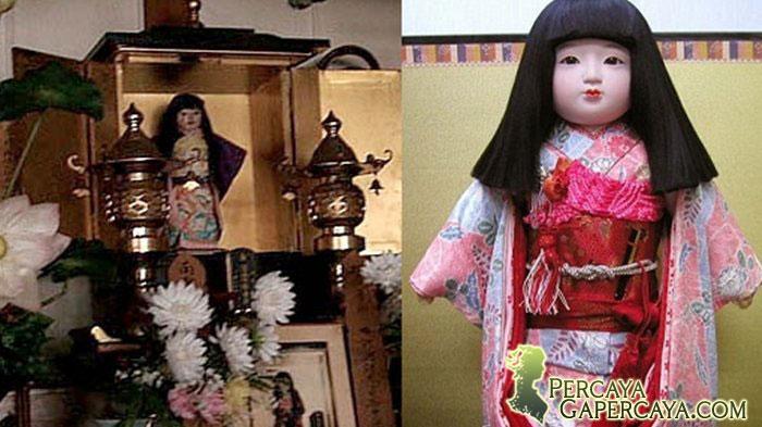 Okiku Boneka Jepang! Seremmmm!